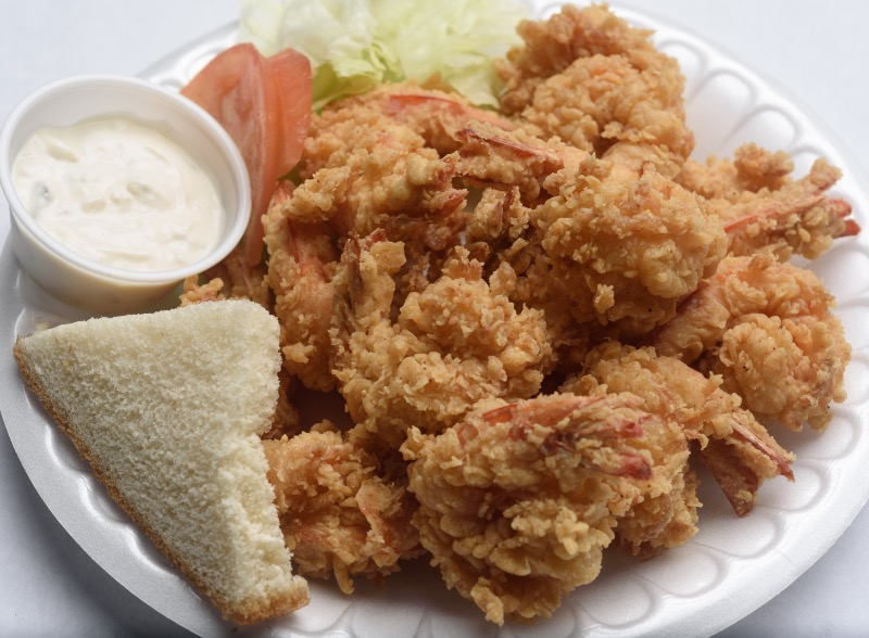 24. Small Fried Shrimp Platter Image