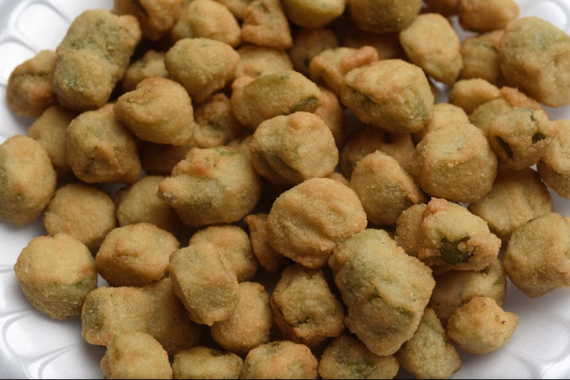 08. Fried Okra