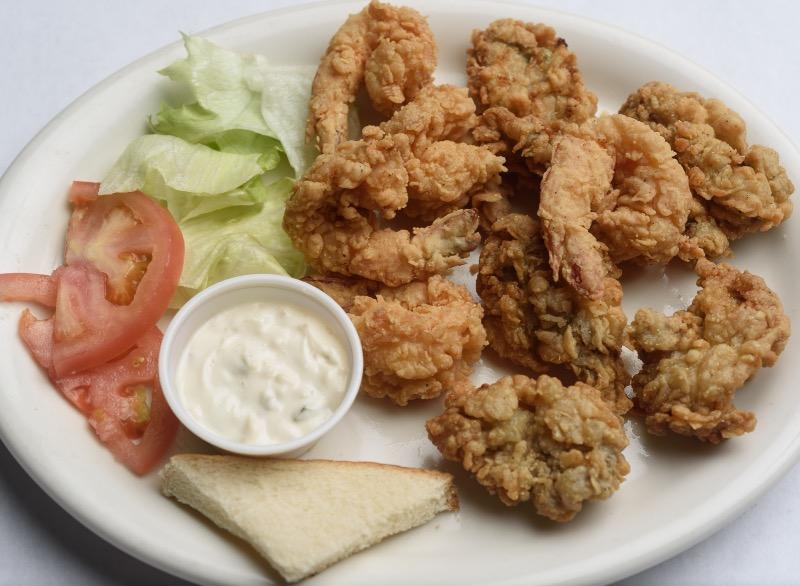 22. Oyster & Shrimp Platter