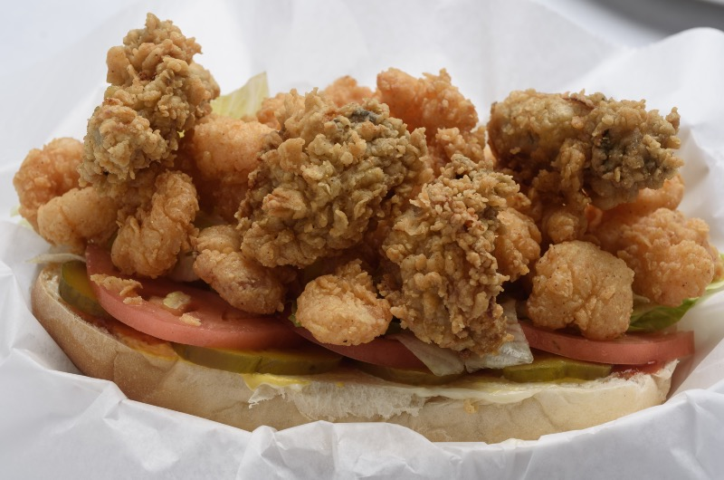 57. Oyster & Shrimp  Po-Boy Image