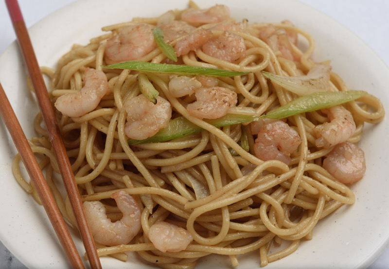 82. Shrimp Lo Mein