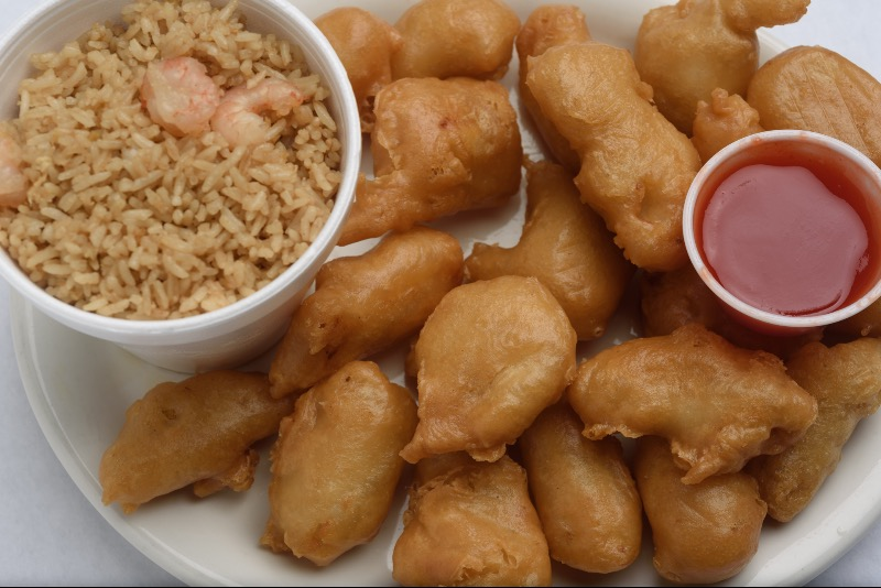 98. Large Order Sweet & Sour Chicken Image