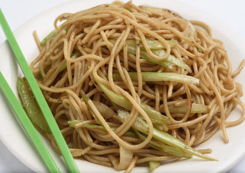 81. Vegetable Lo Mein Image