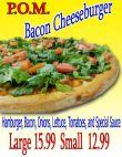 Bacon Cheeseburger Pizza Image