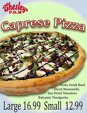 Caprese Pizza Image