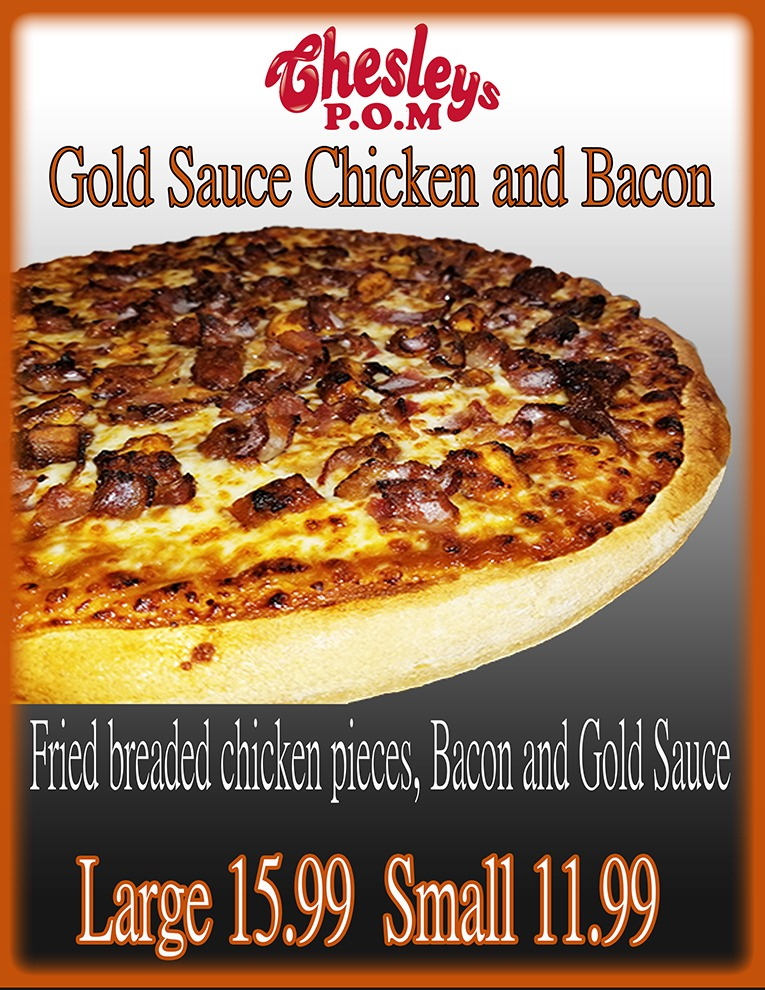 Gold Sauce Chicken and Bacon Image