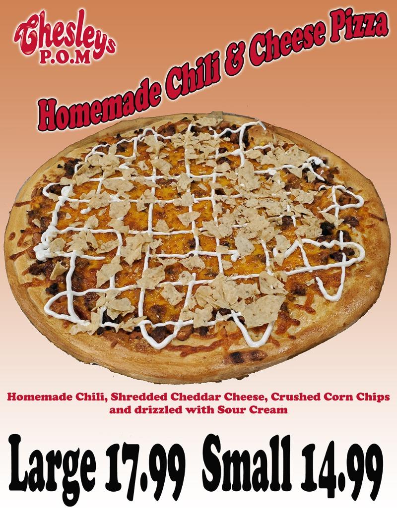 Chili Cheese Pizza Image