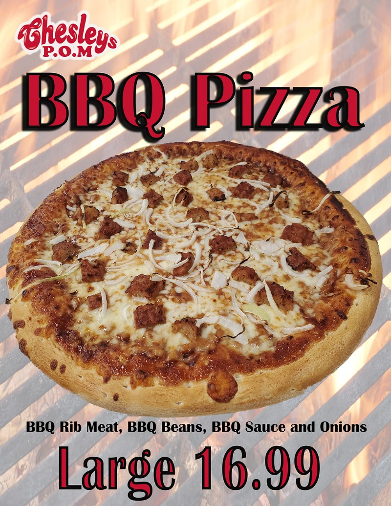 BBQ Pizza Image