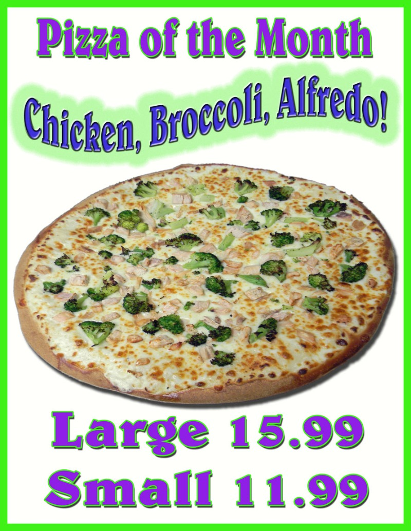 Chicken, Broccoli, Alfredo Image