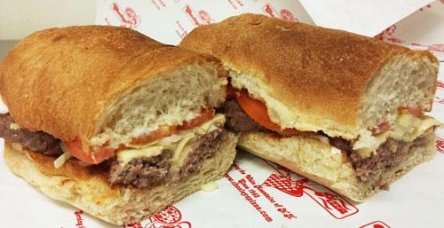 Cheeseburger Sub Image