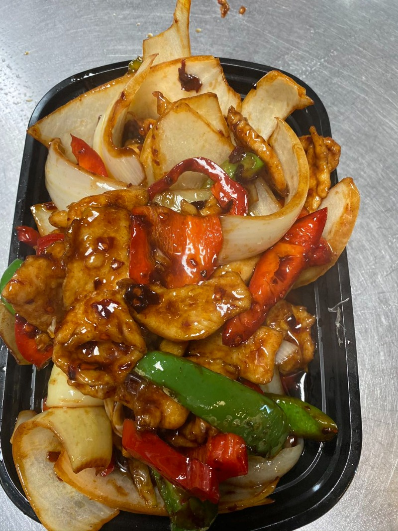 C6. Mongolian Chicken