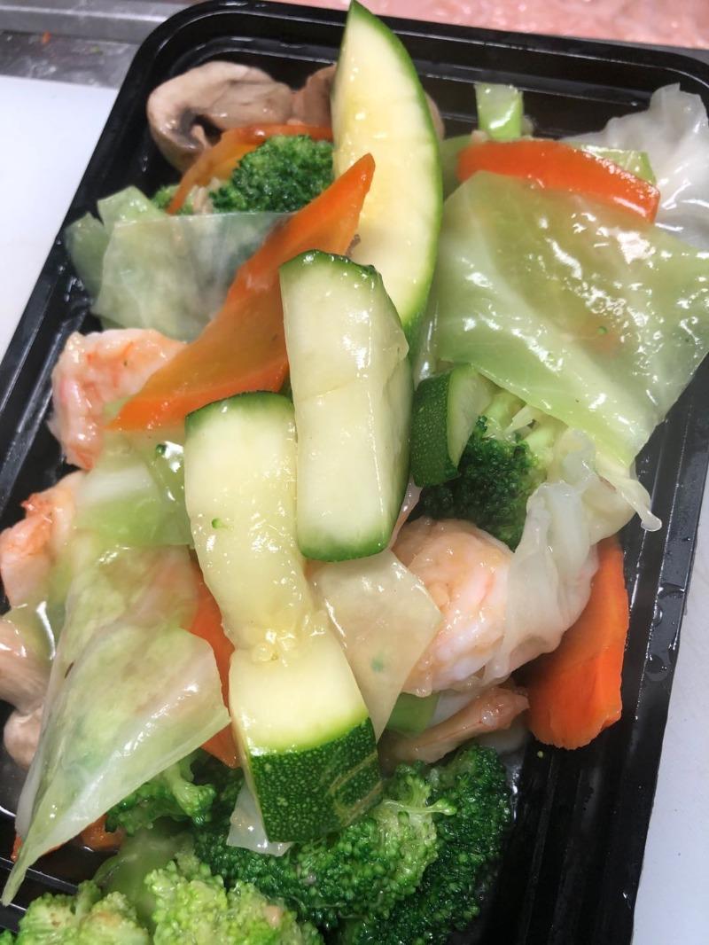 Sh4. Vegetable Shrimp Image