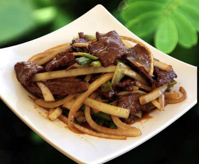S 9. Mongolian Beef