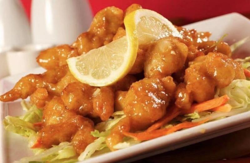 S 2. Crispy Orange Flavor Chicken