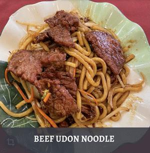 BEEF UDON NOODLE