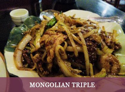 Mongolian Triple
