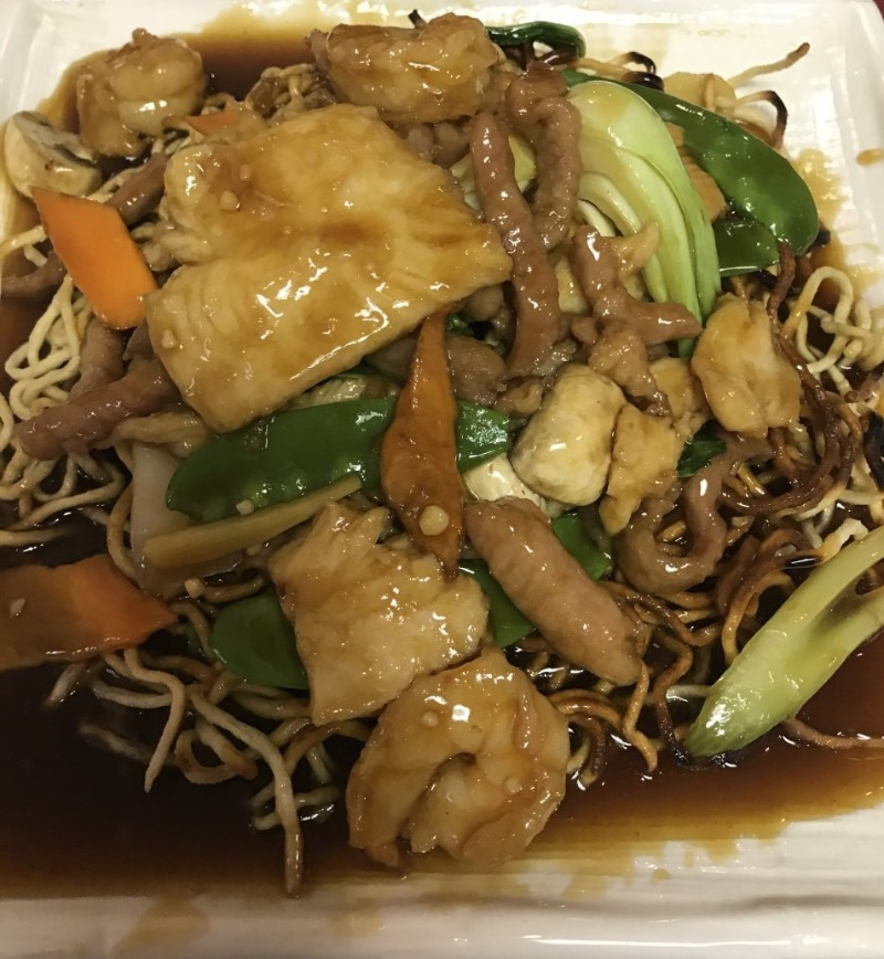 Double Pan Fried Noodles