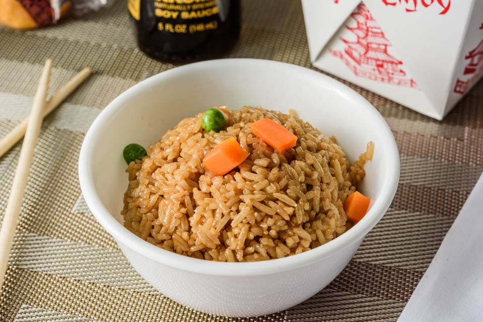 FR5. Plain Fried Rice Image
