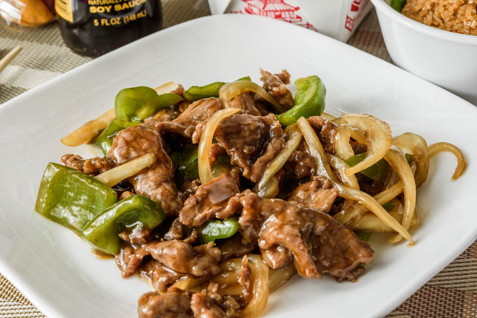Pepper Steak w. Onion Image