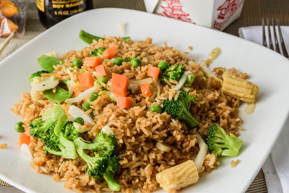 FR4. Vegetable Fried Rice