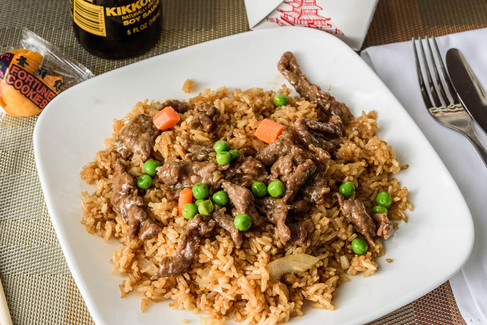 FR2. Beef Fried Rice