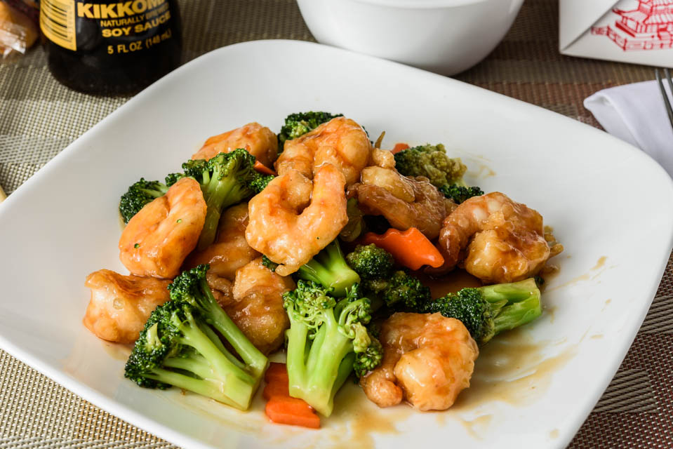 Shrimp w. Broccoli Image