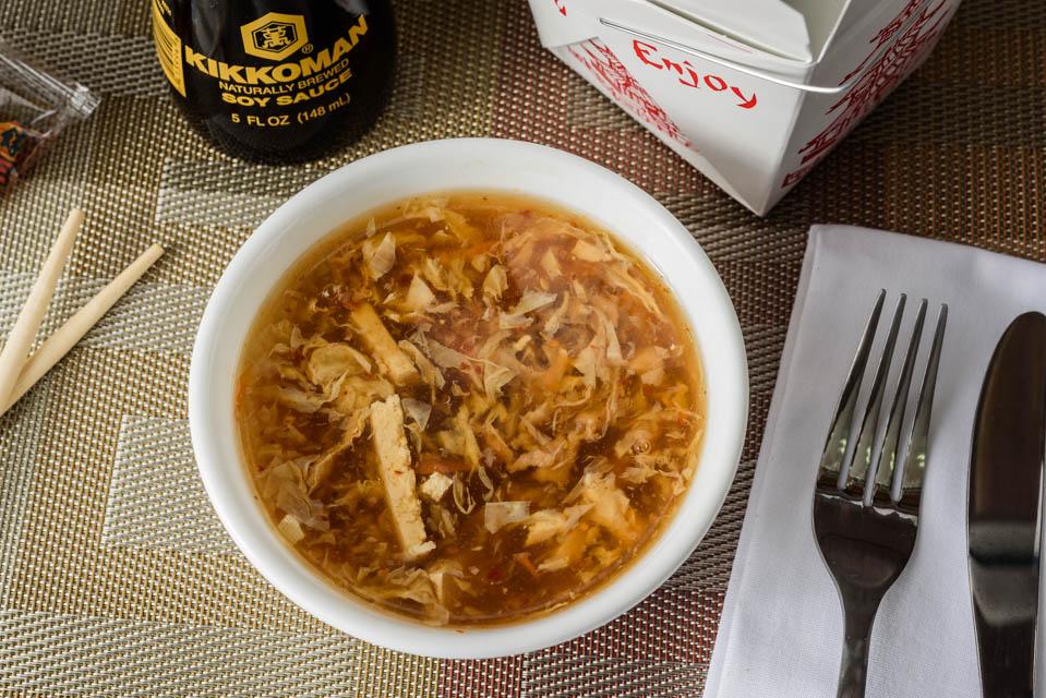 O2. Hot & Sour Soup Image