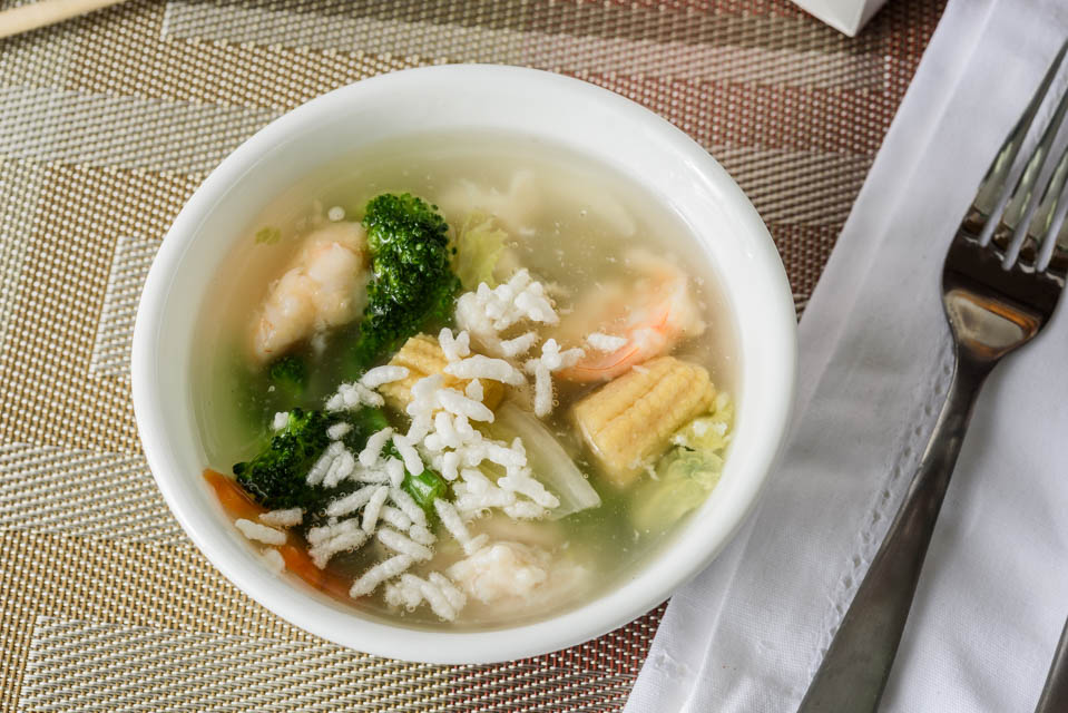 O5. Sizzling Rice Soup (For 2) Image