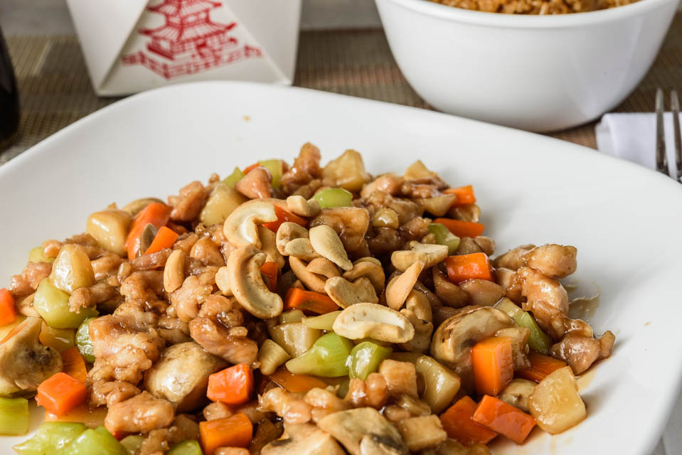 Chicken w. Cashew Nuts Image