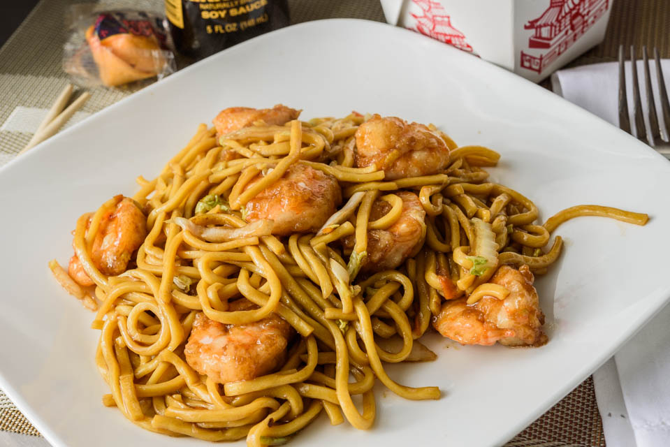 LM2. Shrimp Lo Mein