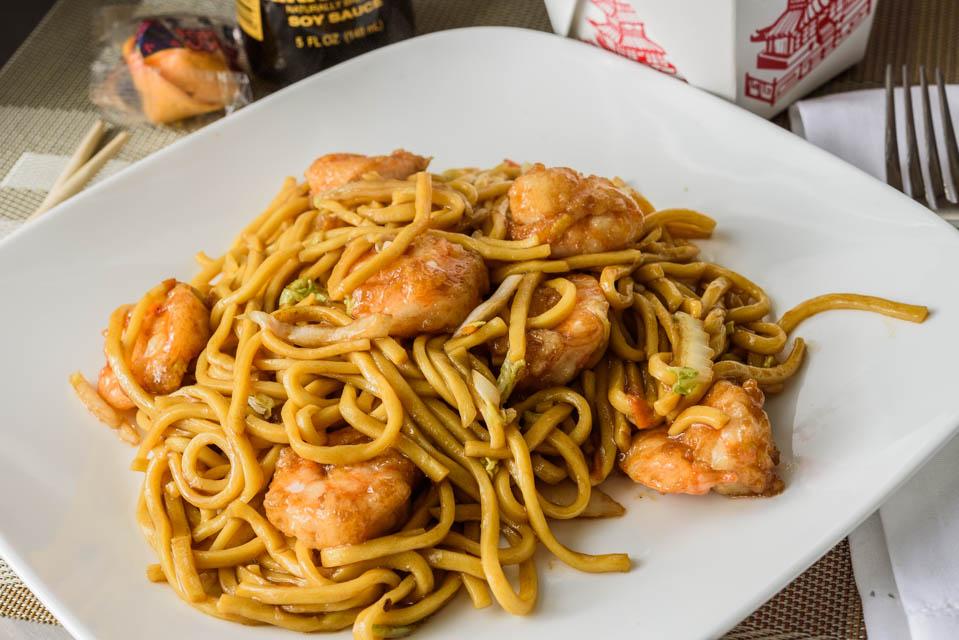 LM2. Shrimp Lo Mein Image