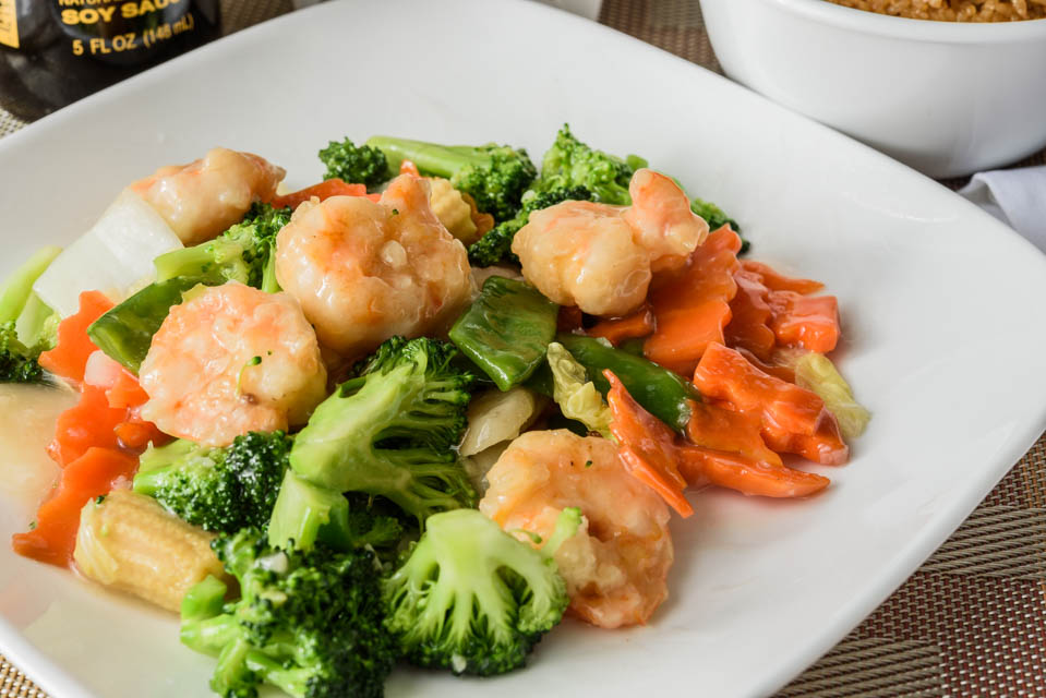 Shrimp w. Mix Vegetable Image