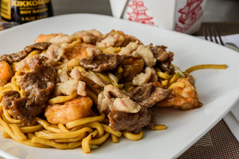 LM1. House Lo Mein