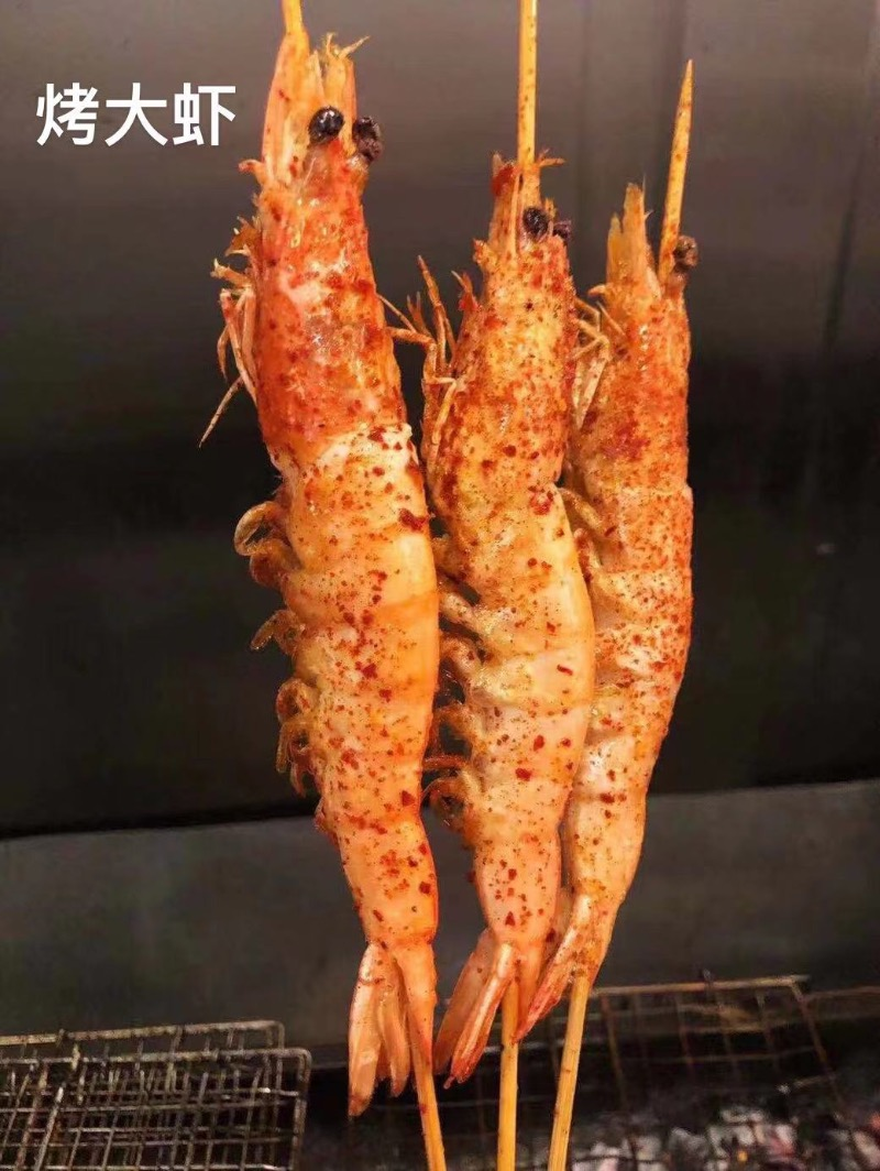 烤有头虾 Jumbo Shrimp (3)