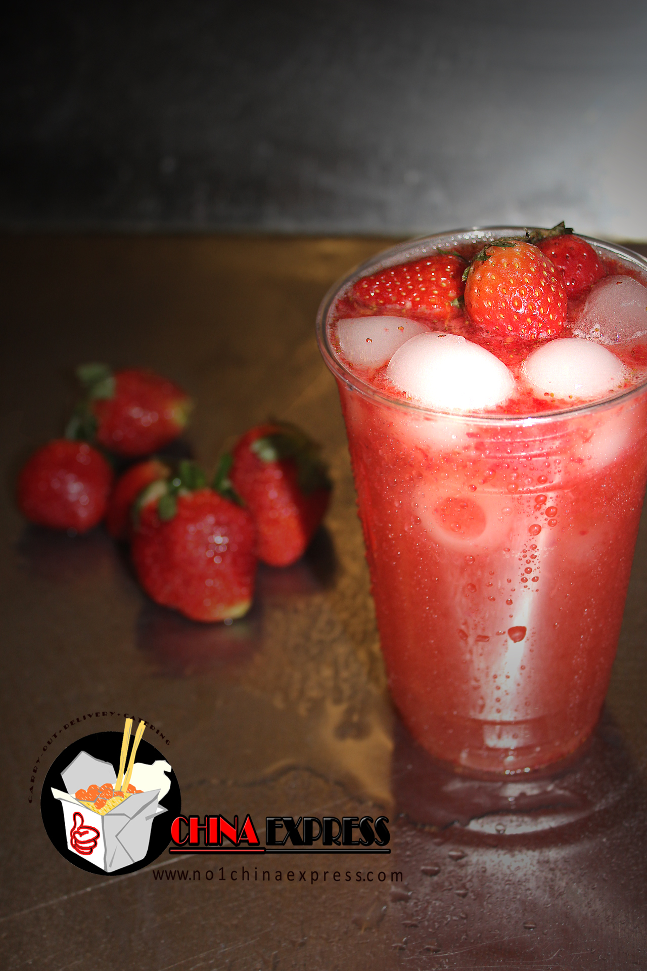 Fresh Strawberry Lemonade (20oz) Image