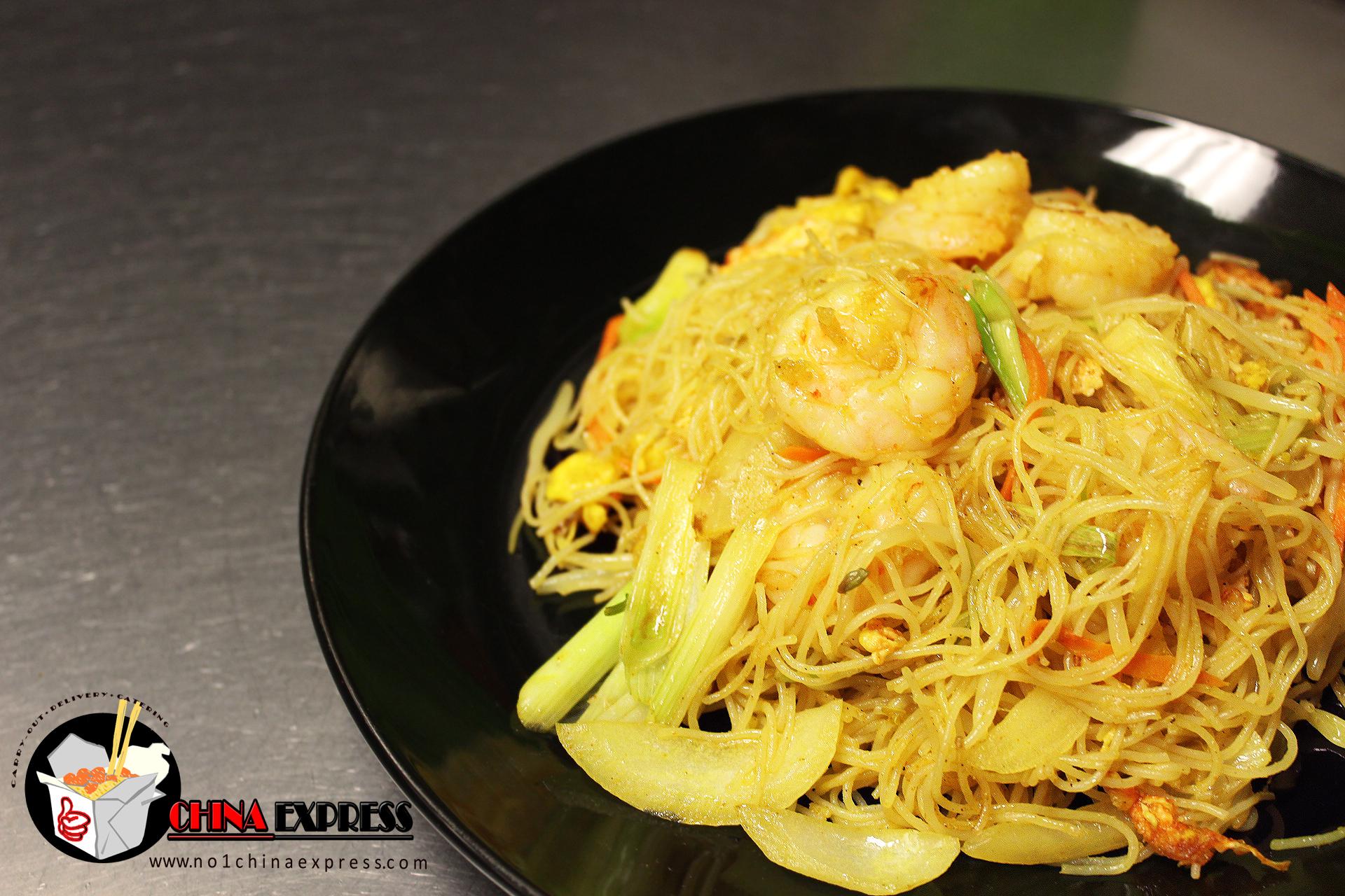 (L) Singapore Noodle Image