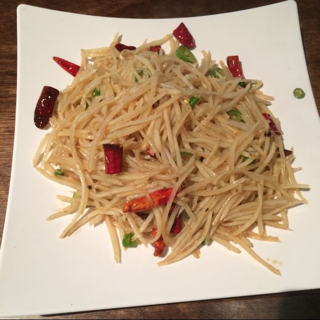 H16. Spicy Shredded Potato (酸辣土豆丝) Image