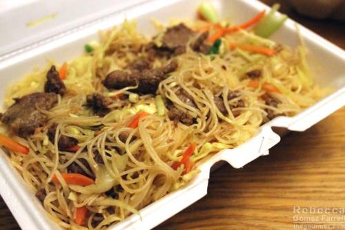 36. Beef Chow Mei Fun