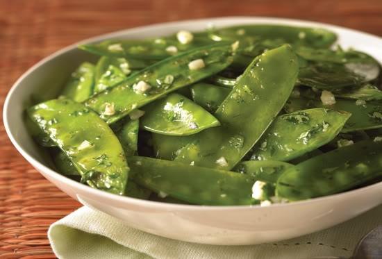 105. Sautéed Snow Peas Image