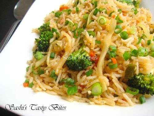 13. Vegetable Fried Rice Image