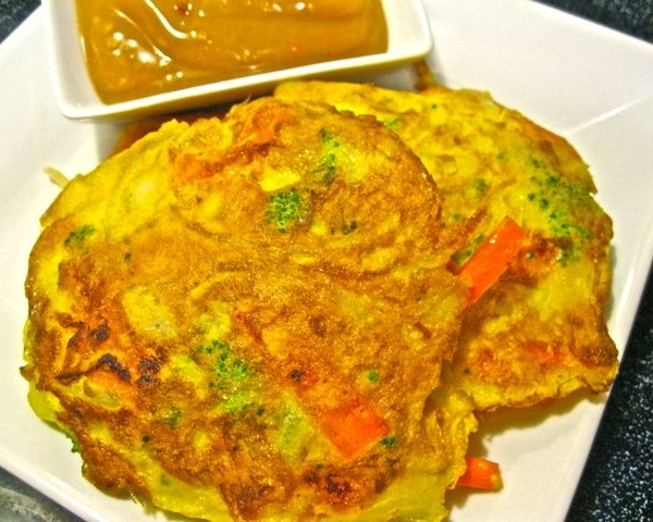 42. Vegetable Egg Foo Young Image