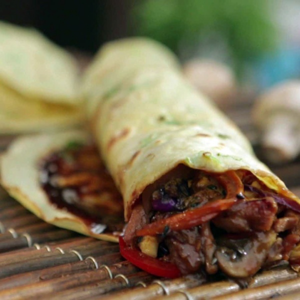 95. Moo Shu Beef Image