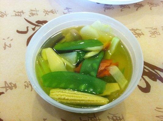 20. Vegetable Soup Image