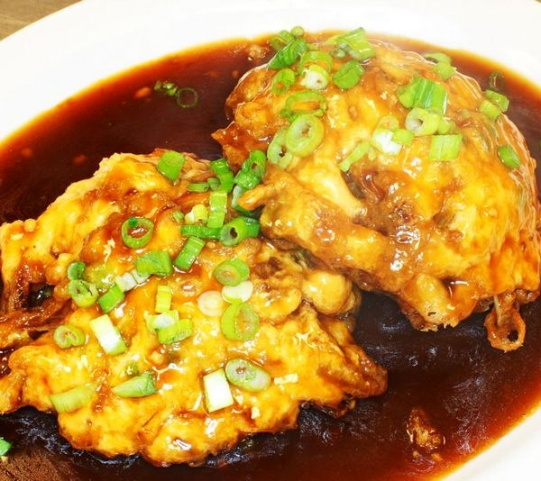 40. Roast Pork Egg Foo Young