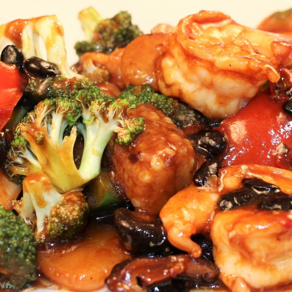 84. Shrimp w. Black Bean Sauce