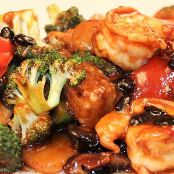84. Shrimp w. Black Bean Sauce Image