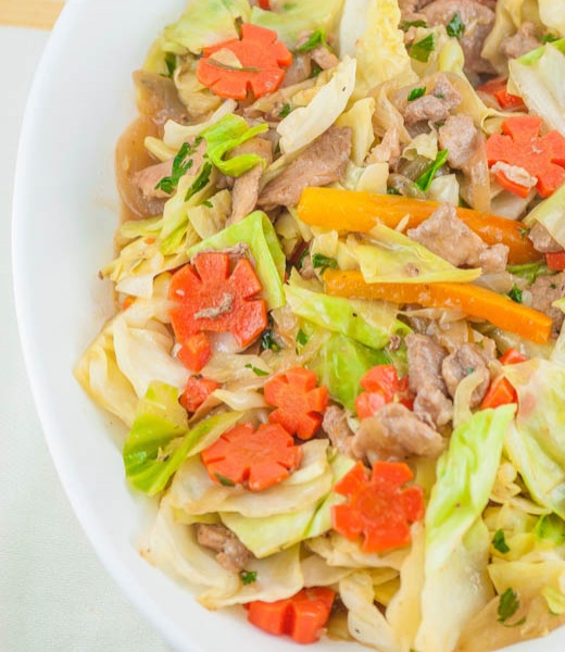 23a. Roast Pork Chop Suey Image