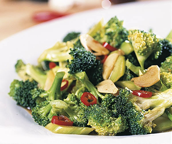 102. Broccoli w. Oyster Sauce Image