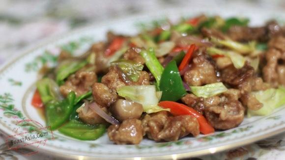 24. Beef Chop Suey Image