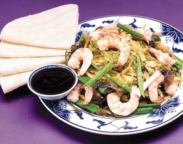 96. Moo Shu Shrimp